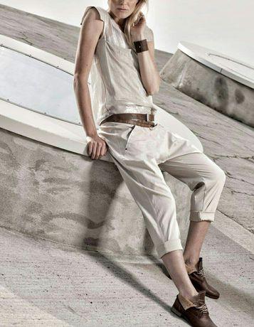 NÖR Denmark Полупрозрачная блуза от датских дизайнеров