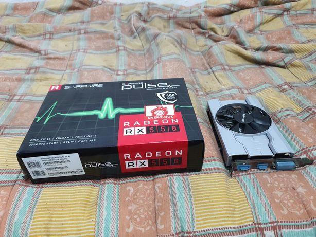 Placa Grafica Sapphire Rx550 4gb DDR5