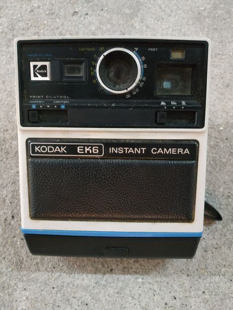 Câmera Antiga Kodak EK6 Instant Camera