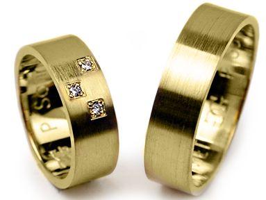 -25% Obrączki złote 585, 6mm, P-SATINE261 - Jubiler Chorzów
