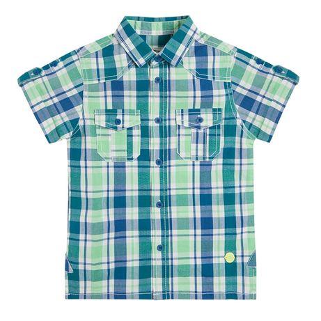 Koszula chłopięca krata 116