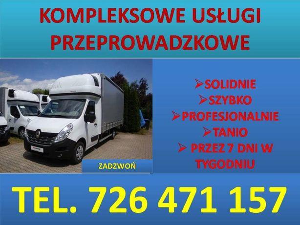 Przeprowadzki-transport-wywóz starych mebli-Zelów -auta z windą