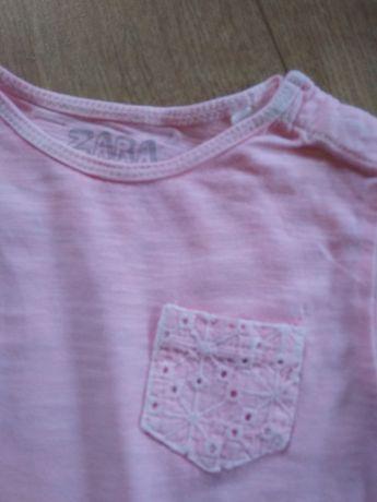 Koszulka Zara 80 dziewczynka