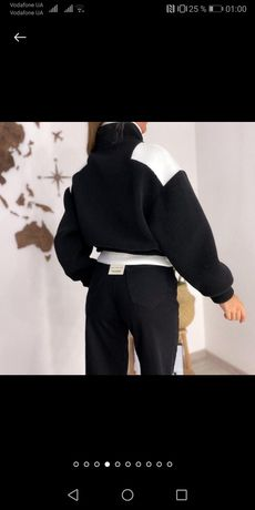 Куртка тедди, трендовая куртка с рефлективным карманом