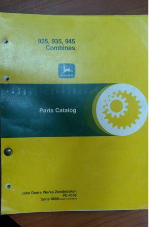Katalog Części John Deere Kombajny 925, 935, 945
