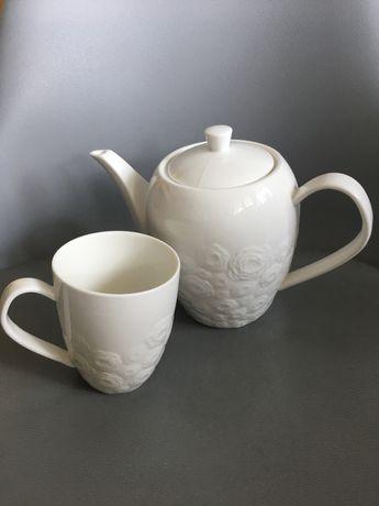 Czajnik imbryk porcelana duka sara