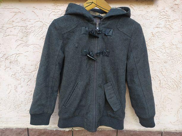 Пальто демисезонное на мальчика 10 - 11 - 12 лет.
