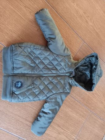 Ciepła kurtka rozmiar 80