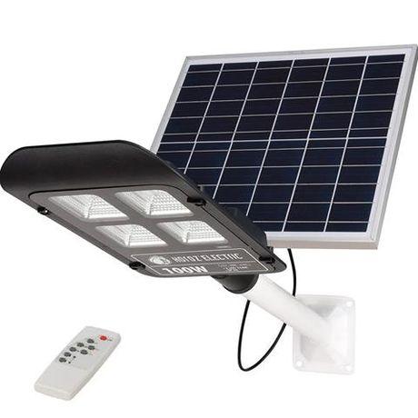 Консольный светильник (фонарь) с солнечной панелью LAGUNA 50, 100, 200