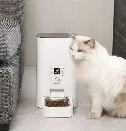 Автоматическая кормушка для котов