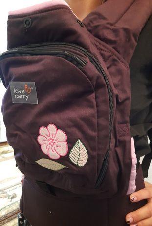 Ергономічний рюкзак (ерго-рюкзак).  Эрго-рюкзак Love & Carry