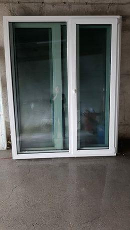 Drzwi tarasowe okna 175x222 PCV DOWÓZ CAŁY KRAJ