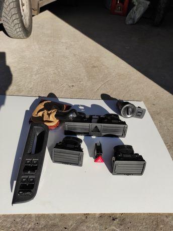 Шкода, пластик, переключатель, воздуховоды, ручка, кнопки, дифлектор