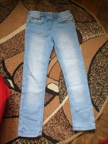 Jeansy dziewczęce