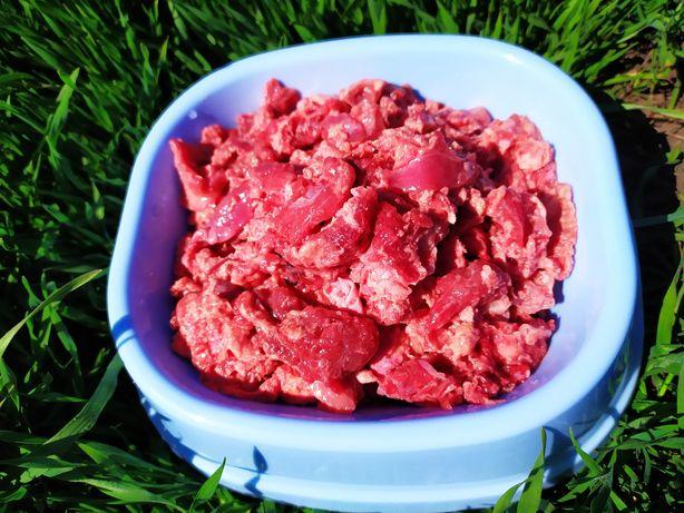Корм для животных. Фарш говяжий. Мясо для животных!