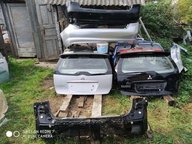 Mitsubishi grandis мітсубісі грандіс кришка багажника бампер панель
