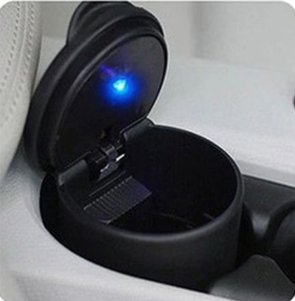 Popielniczka samochodowa LED
