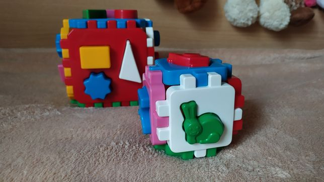Технок куб сортер, фигуры, животные