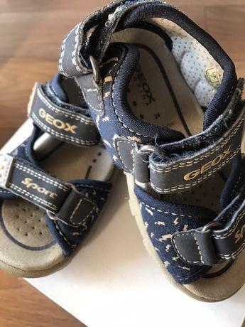 Sandały Geox dla chłopca, 50zł-cena z przesyłką!!