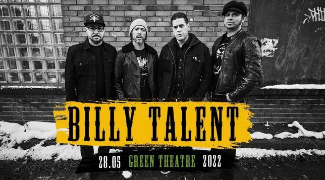 Билет на концерт группы Billy Talent