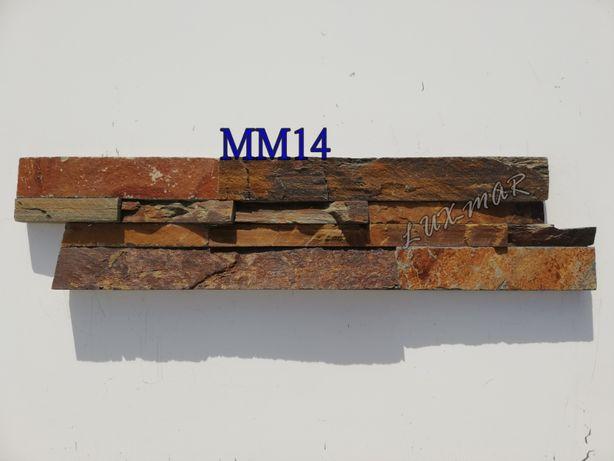 Panel Elewacyjny z Kamienia Naturalnego/ Brązowy/Płytka /Elewacja