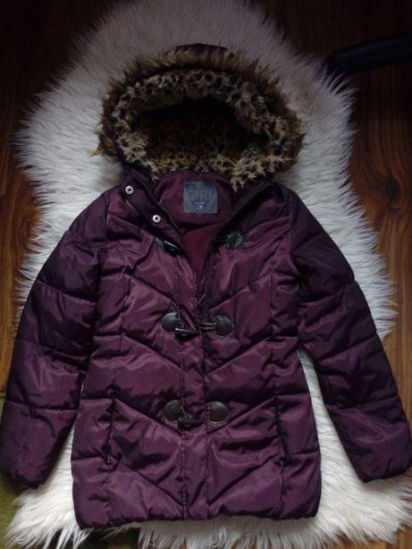 kurtka zimowa (Smyk) 128 gratis czapka i komin