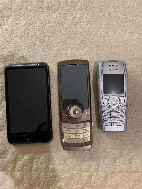 Телефоны на запчасти HTC, Nokia, Samsung