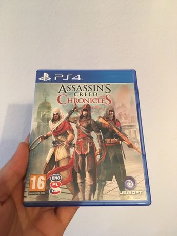 Gra Gry Ps 4 Assassin's Creed Chronicles Playstation Konsola ps3