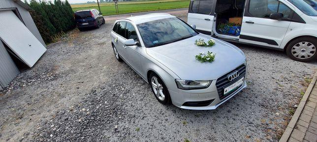 Samochód do ślubu Audi A4 b8 lift