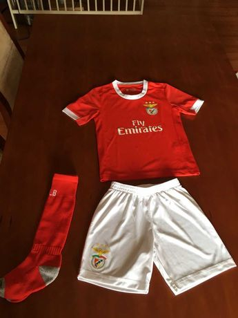 Kits futebol Benfica criança