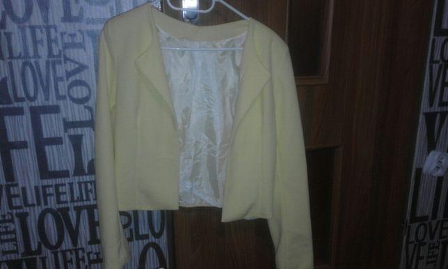 Żółta marynarka damska L/XL