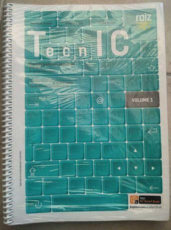 Manual Escolar de TIC 7º/8º Ano Letivo - TechnIC - raiz (3 Volumes)