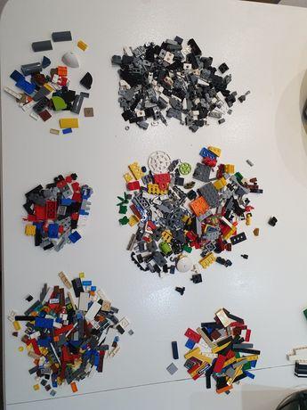 Lego 100% oryginalne płaskie drobne akcesoria cegły mix sortowane kg