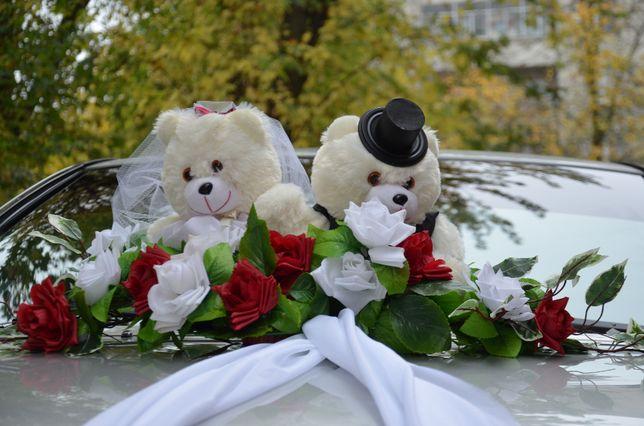 Весільні ведмедики- банти.
