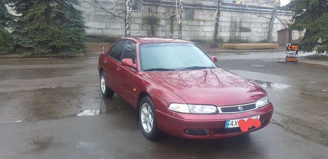 Mazda 626 GE, 1996 год, ГБО-4,