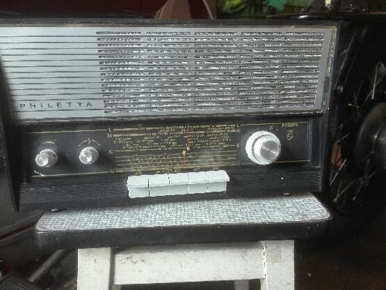 Radio lampowe Philetta