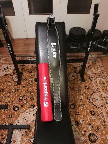 Domowa siłownia - ławka, gryf, hantle, stojaki 195kg !!! obciążenia