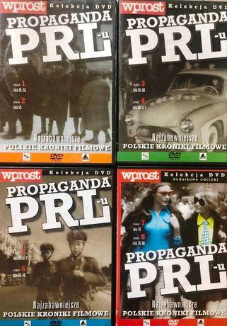 propaganda PRL-u - kolekcja kronik filmowych