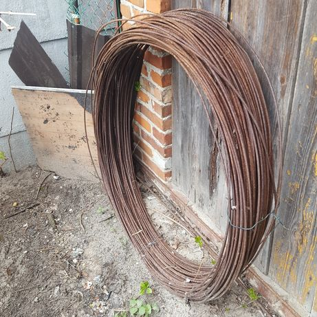 Drut stalowy 6 mm