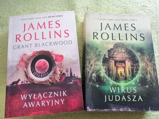 Dwie książki James Rollins