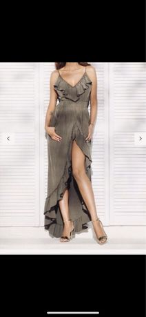 Sukienka Lou khaki