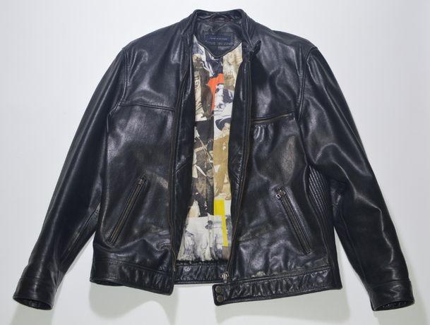 Кожаная куртка, косуха Tommy Hilfiger Cuir Jacket Einstein McQueen
