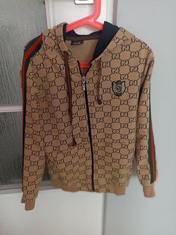 Bluza brązowa Gucci