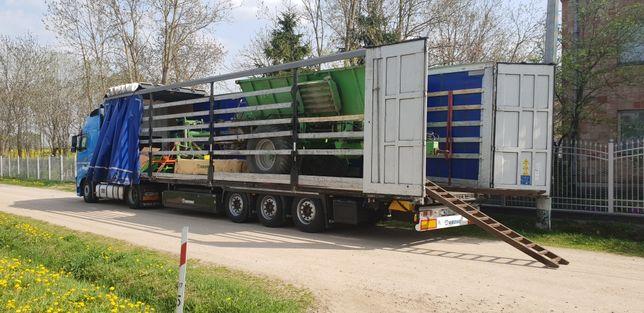 Transport Holandia Belgia Niemcy maszyny wciagarka bus aut łodzi  okna
