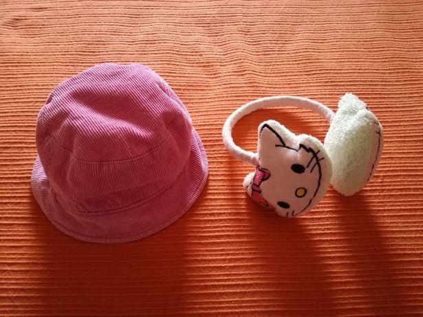 Chapéu e Tapa Orelhas Hello Kitty, 3 Anos