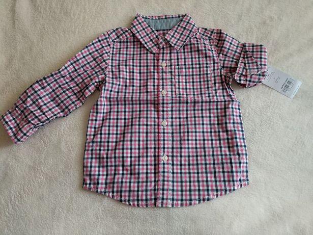 Рубашка Carter's 18 месяцев, рубашка carters картерс рост 80