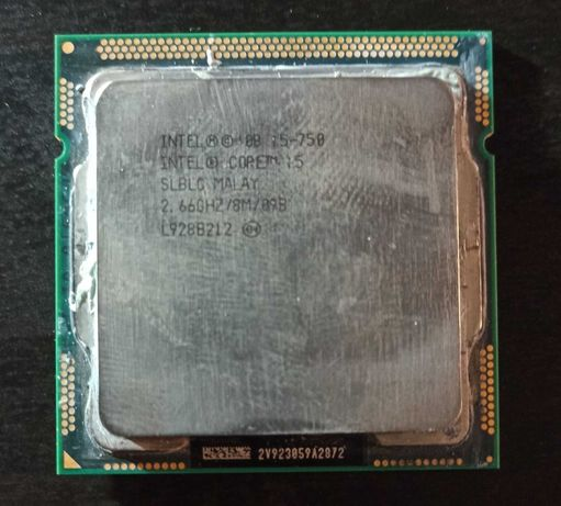 Intel core I5 750 socket 1156