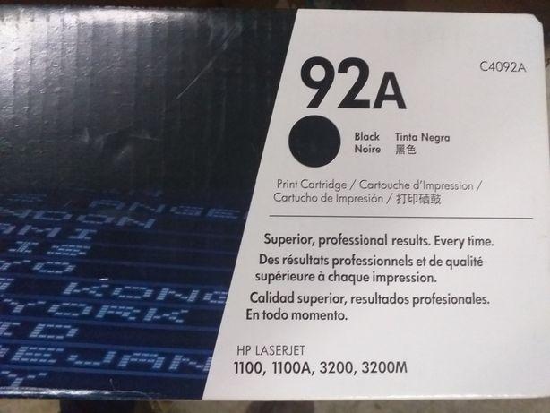 Toner d drukarki HP laserjet 92A