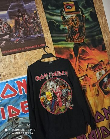 Iron Maiden Bring Your Daughter to the Slaughter 1990, gratis koszulka