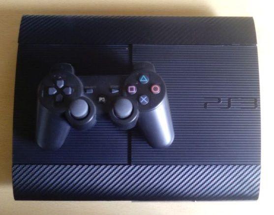 PS3 Super Slim + HEN i gry